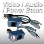 CCTV Video/ Audio/ Power Balun RJ45 Connector
