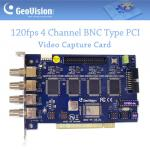 Geovision GV-800 120fps 4CH BNC PCI Video Capture DVR Card