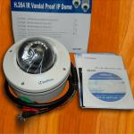 Geovision GV-VD122 1.3MP IR Vandal Proof IP Dome