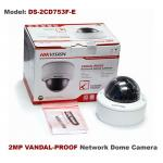 HIKVISION 2MP Vandal Resistant Vari-focal IP Dome/2.7~9mm/PoE